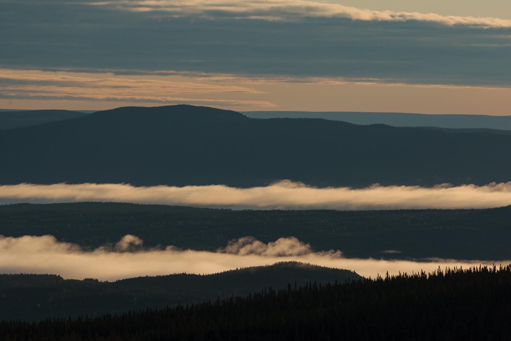 Landskapsfotografi Hemmelfjellet