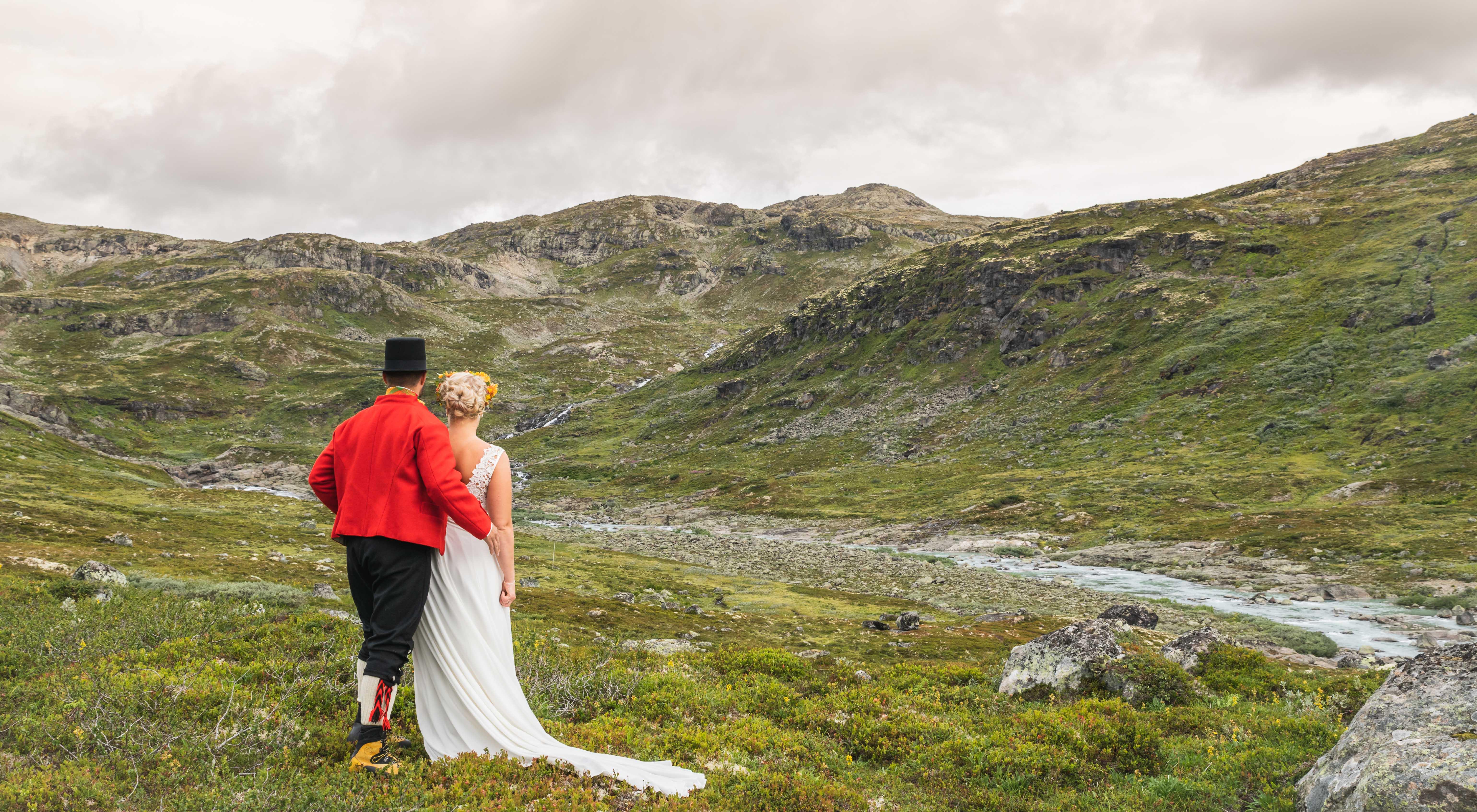 Bryllupsfotografi Eidsbugarden