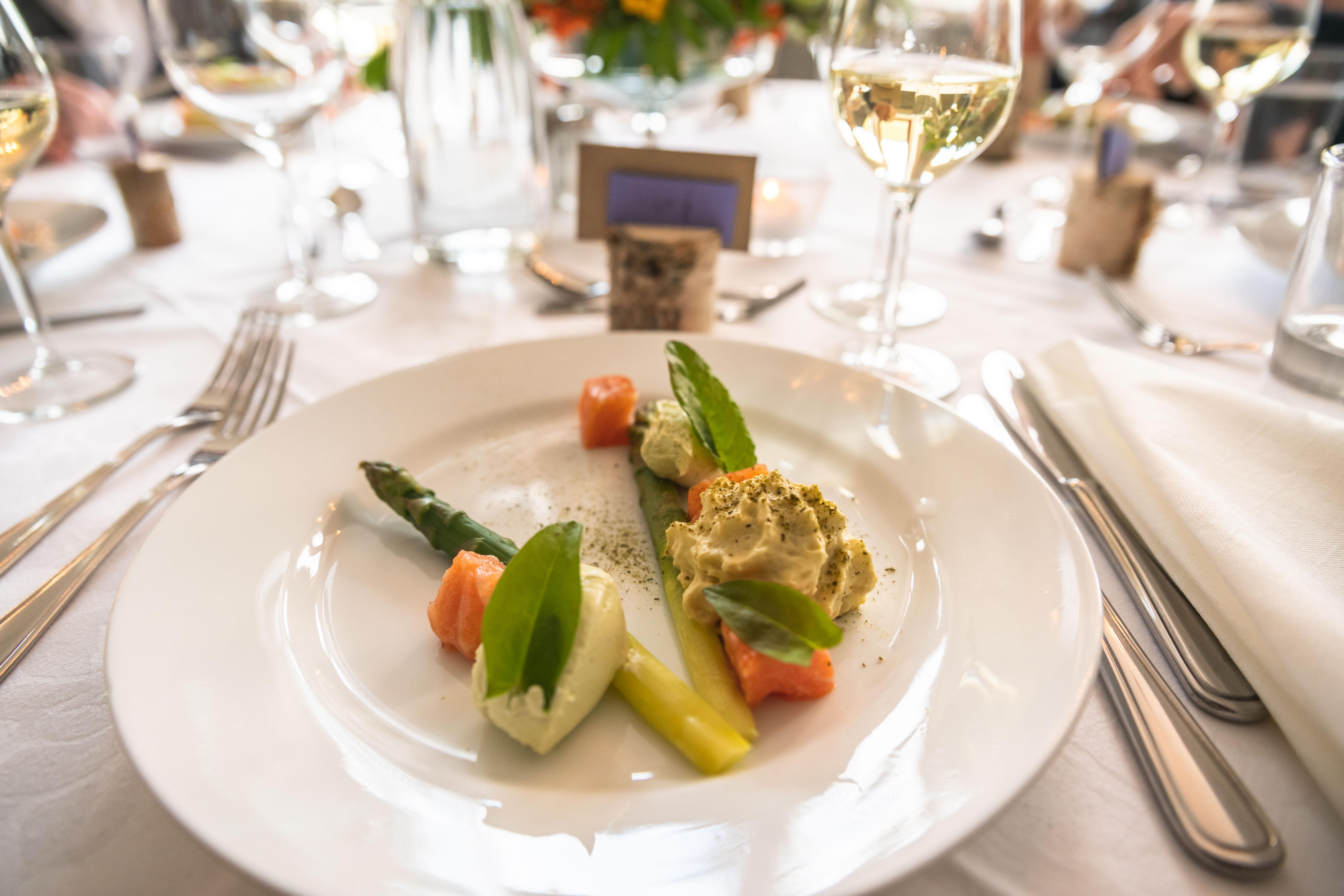 Bryllupsfotografi middag