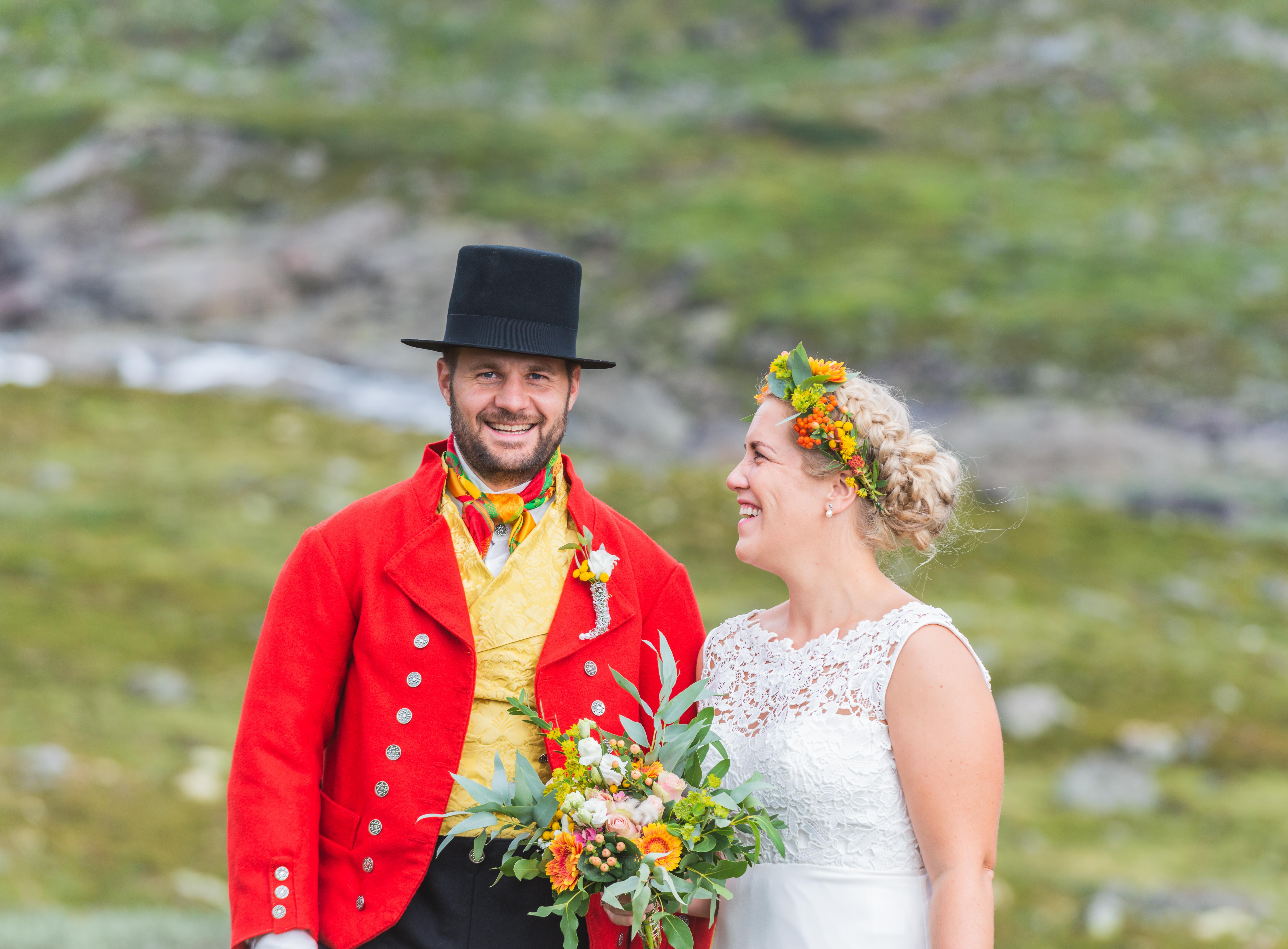 Bryllup portrett