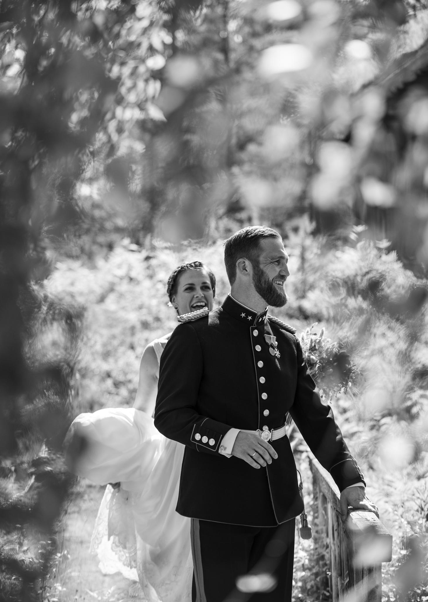 Bryllup øyeblikksbilde