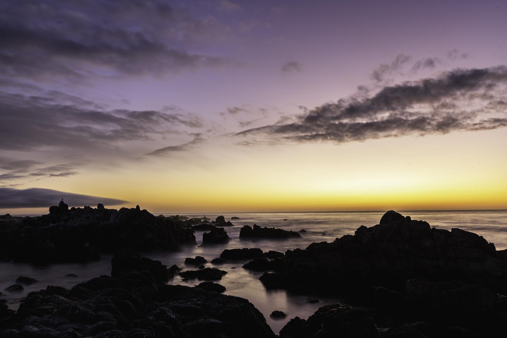 Solnedgang Monterey USA