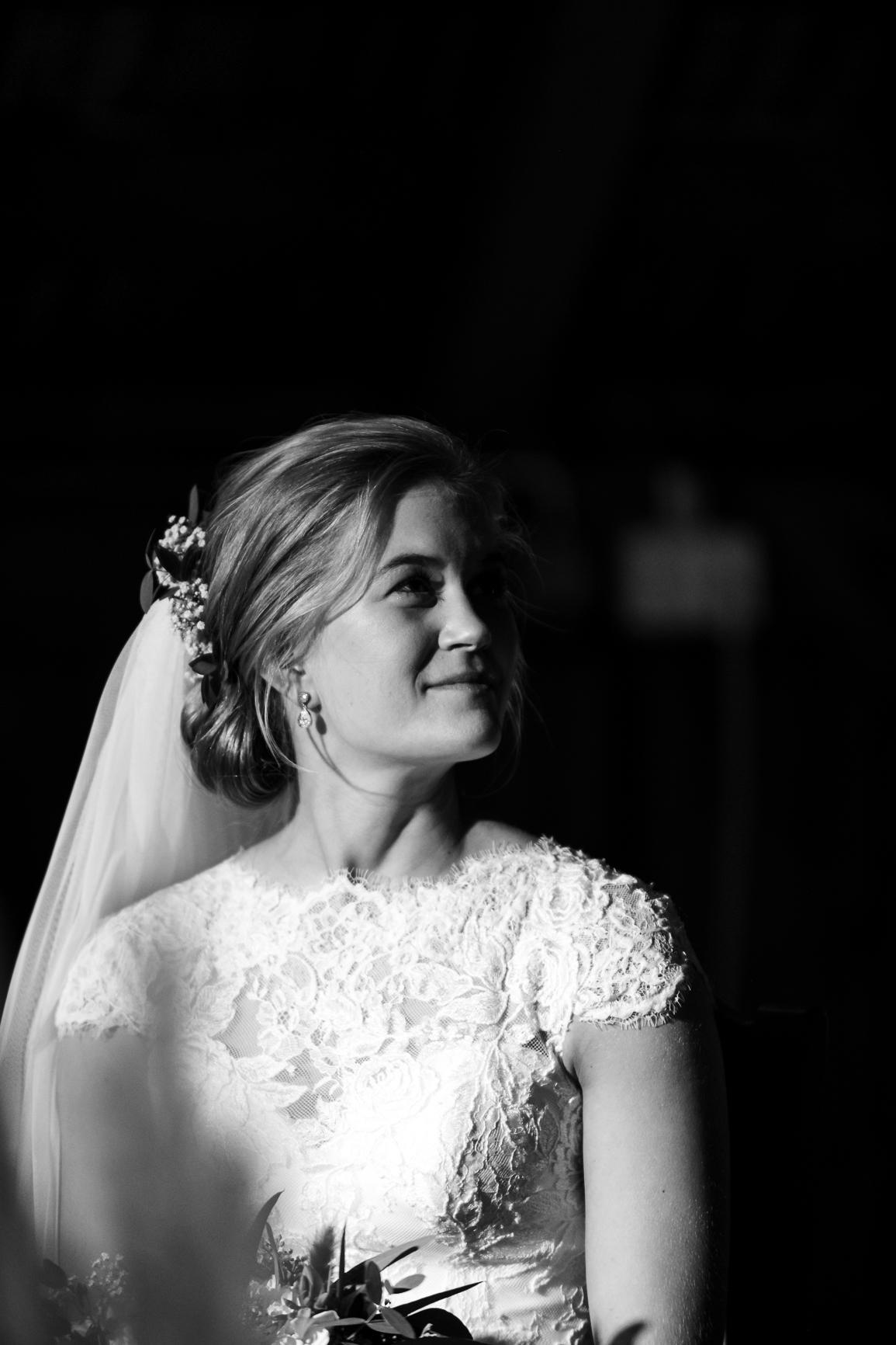 Bryllup- Brud med følelser