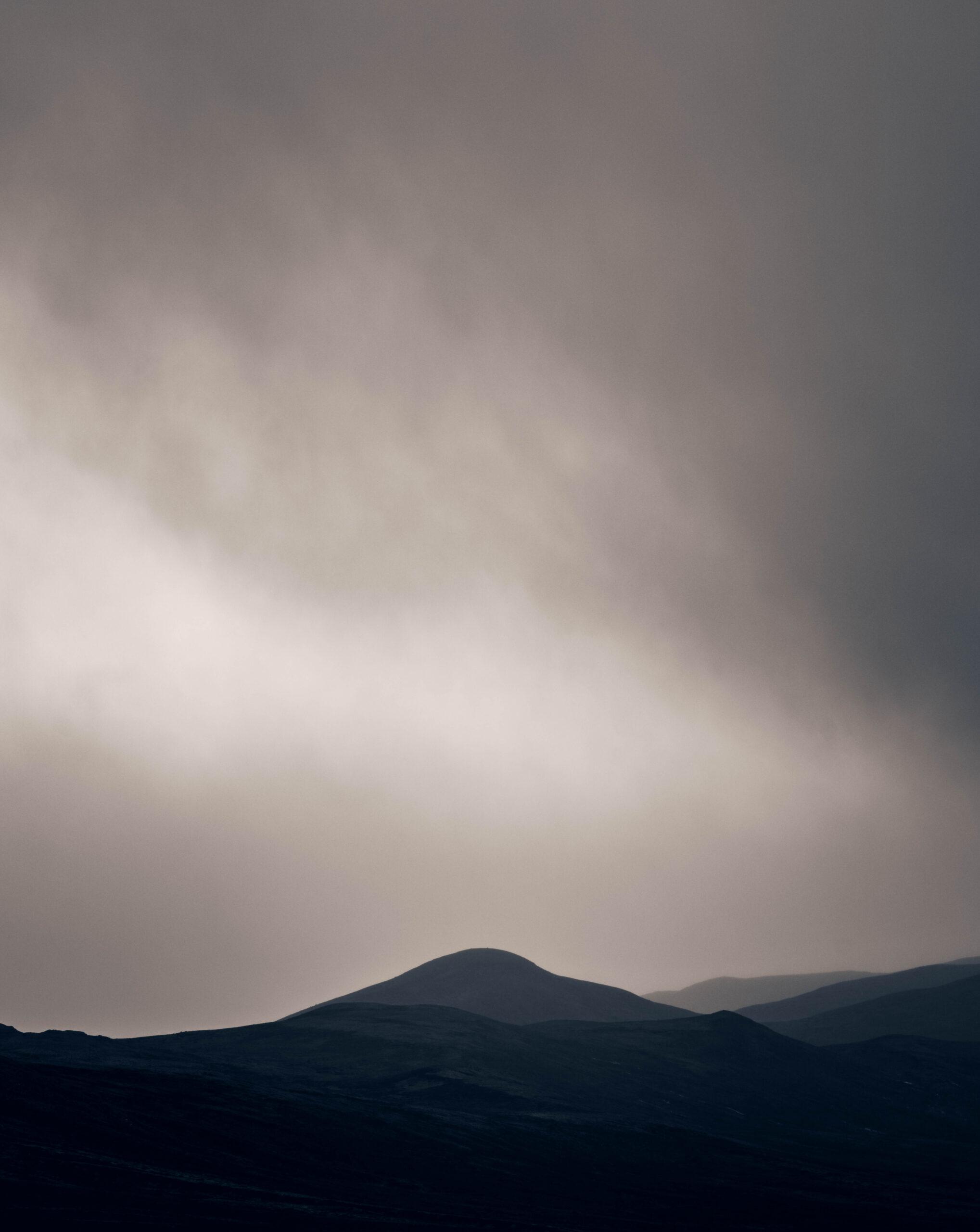 Landskap i tåke